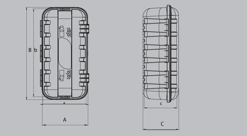 skrzynka na gaśnicę