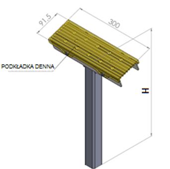 support latéral remorque dimensions